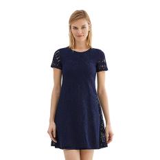 Esprit 037EE1E001 Women's Dresses - Navy