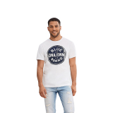 Beli Esprit 047Cc2K051 Male S T Shirts White Lengkap