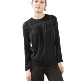Esprit 116Cc1F007 Women S Blouses Black Esprit Diskon