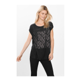 Jual Esprit 116Eo1K012 Women S T Shirts Black Branded Original