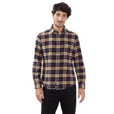 Toko Esprit Check Flannel Shirt 100 Cotton Honey Yellow Di Jawa Barat