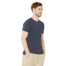 Spesifikasi Esprit Cotton Jersey T Shirt With A Pocket Navy Dan Harga