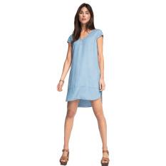Jual Esprit Denim Dress Made Of Fluid Lyocell Blue Light Wash Esprit