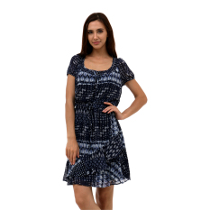 Beli Esprit Dresses Light Woven Midi Navy Kredit