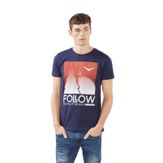Harga Esprit Jersey Cotton Print T Shirt Navy Branded