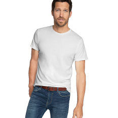 Beli Esprit Jersey Round Neck T Shirt 100 Cotton White Murah Indonesia