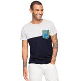Beli Esprit Patchwork Cotton Jersey T Shirt White Nyicil