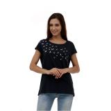 Toko Esprit Print T Shirt Navy Dekat Sini