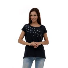 Esprit Print T-Shirt - Navy
