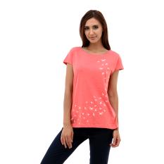 Toko Esprit Print T Shirt Pink Esprit Jawa Barat