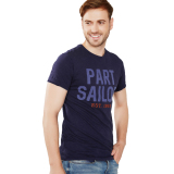 Harga Esprit Slub Jersey T Shirt 100 Cotton Dark Blue Asli