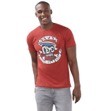 Jual Esprit Slub Jersey T Shirt 100 Cotton Dark Red Branded