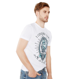 Jual Esprit Slub Jersey T Shirt 100 Cotton White Antik