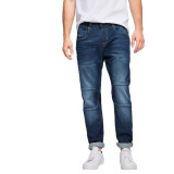 Jual Esprit Stretch Jeans With Dividing Seams Blue Medium Wash Branded Original