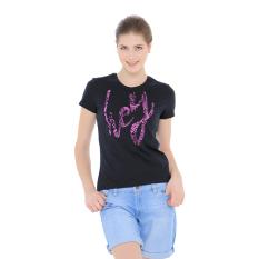 Esprit T Shirts Short Short Sleeve Black Asli