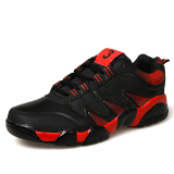 Essan Pria Sepatu Bernapas Sepatu Olahraga Pria Casual Kets Fashion Merah Essan Diskon 40