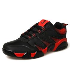 Review Essan Pria Sepatu Bernapas Sepatu Olahraga Pria Casual Kets Fashion Merah Indonesia