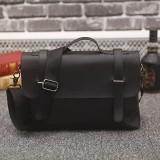 Beli Essentials For Men Kulit Asli Retro Tas Briefcase Messenger Tas Bahu Tas Bisnis Crossbody Tas Pria Perjalanan Kasual Intl Kredit