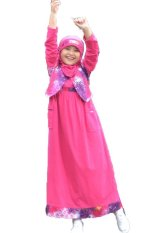 Jual Ethica Moslem Fashion Dress Anak Ork 05 Magenta Ethica Moslem Fashion Branded