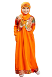 Harga Ethica Moslem Fashion Dress Anak Ork 05 Orange
