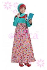 Ethica Moslem Fashion Dress Anak ORK 11 (Merah)