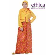 Ethica Moslem Fashion Dress Anak OSK 54 (Merah Bata)