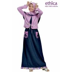 Tips Beli Ethica Moslem Fashion Dress Anak Osk 55 Cyclament