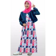 Ethica Moslem Fashion Dress Anak OSK 57 (Magenta)