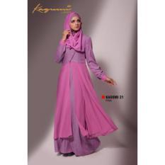 Ethica Moslem Fashion Dress Gamis Kagumi 21 Pink