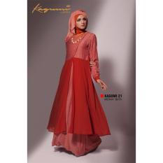 Ethica Moslem Fashion Dress Gamis Kagumi 21 (Merah Bata)