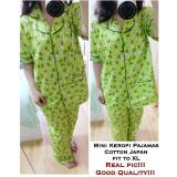 Obral Ethnes Com Realpict Pajamas Mini Keropi Katun Jepang 45 Murah