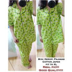 Beli Ethnes Com Realpict Pajamas Mini Keropi Katun Jepang 45 Kredit Dki Jakarta