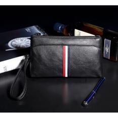 Jual Eton Dompet Clutch Panjang Handbag Pria Black Men S Wallet Str01 Satu Set
