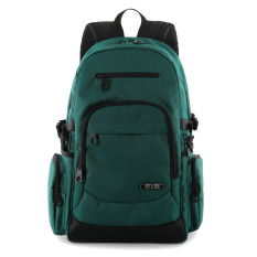 EVB Korea Fashion Style komputer bisnis kapasitas besar ransel perjalanan tas ransel (Hijau gelap hijau)