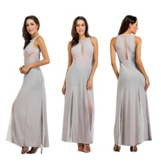 Evening Dresses Perspective sexy Floor-Length Prom Dresses Elegant Evening Dresses Night Club Dresses -gray - intl