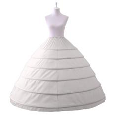 Promo Pernah Gaun Putih 6 Hoops Petticoat Memetiknya Untuk Gaun Pernikahan Pengantin Gaun Malam Intl Akhir Tahun