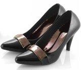 Beli Everflow De 201 Sepatu Formal Heels Wanita Synth Fiber Bagus Dan Cantik Black Cicil