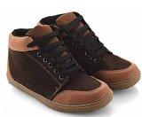Jual Everflow Dg02 Sepatu High Cut Sneaker Anak Laki Laki Synth Tpr Lucu Dan Keren Brown Murah Di Indonesia