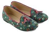 Toko Everflow Ep012 Flat Shoes Anak Perempuan Canvas Rubber Lucu Dan Keren Green Comb Termurah