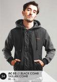 Perbandingan Harga Everflow Jacket Long Sleeve Taslan Comb Black Grey Ac 02 Di Indonesia
