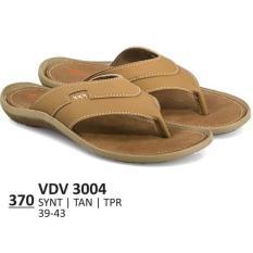 Everflow Sandal Formal / Kasual Pria - VDV 3004 Warna : Tan Bahan : Sintetis