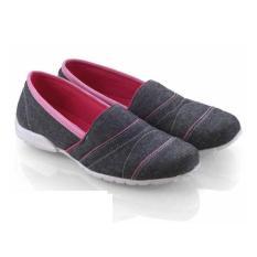 Beli Everflow Sepatu Flat Casual Trendy Slip On Denim Vsd05 Pink Flat Shoes Best Seller Di Jawa Barat