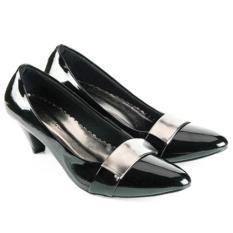Spesifikasi Everflow Sepatu Formal Wanita Heels Vde 201 5Cm Synthetic Hitam Online