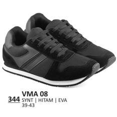 Beli Everflow Sepatu Lari Sporty Pria Vma 08 Synthetic Hitam Nyicil
