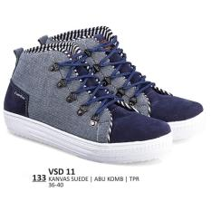 Beli Everflow Sepatu Sneaker Lifestyle Kasual Wanita Vsd 11 Abu Lengkap