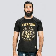 Toko Everflow T Shirt Kaos Casual Pria Von 10 Combed Hitam Lengkap Di Jawa Barat
