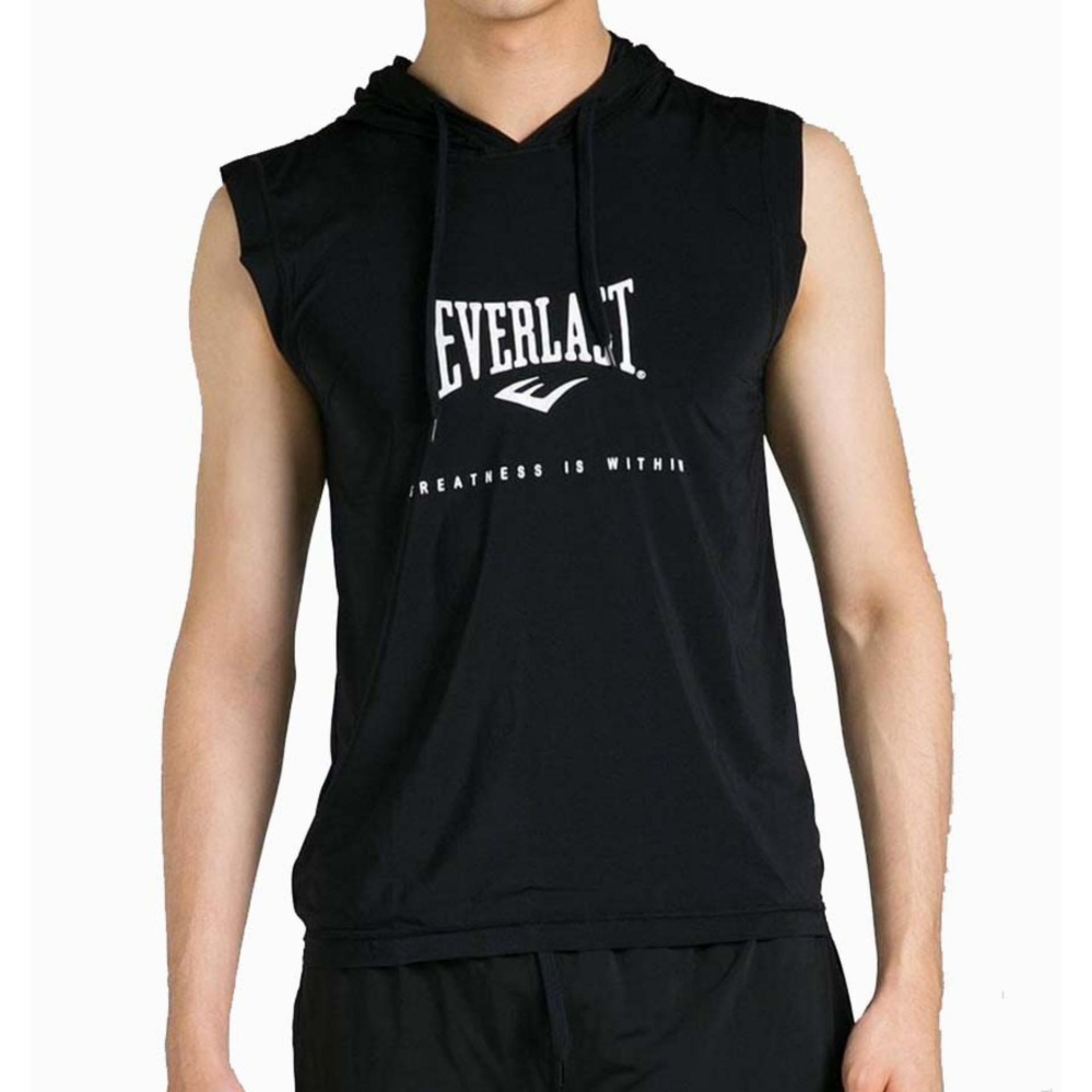 Everlast Tanktop Hoodie Ev Ho1 - Black By Everlast Official Store.