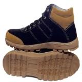 Harga Ewn Sepatu Boots Sepatu Hiking Sepatu Touring Sepatu Casual Pria Sepatu Biker Sepatu Safety Mocca Hitam Seken