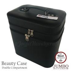 Exclusive JUMBO Size Tas Tempat Kosmetik Black - Hitam