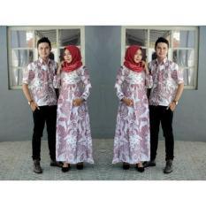Exclusive  Sarimbit Batik Gamis Simple Elegan